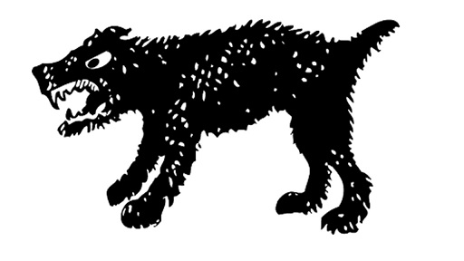 Aggressive Havanese puppy